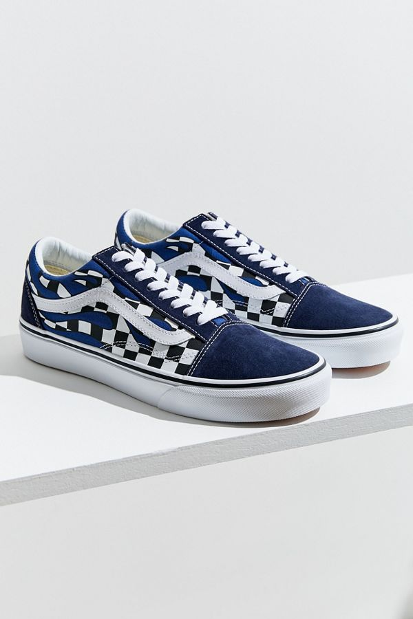 Vans Old Skool Checkerboard Flame Sneaker  c66b92db0539