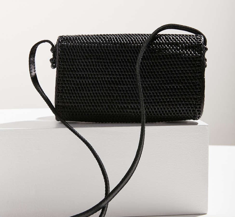 Slide View: 3: Ida Straw Crossbody Bag