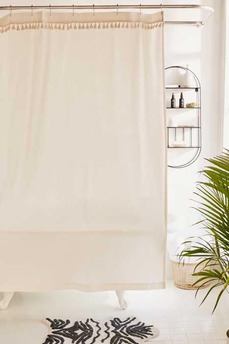 Tassle Shower Curtain