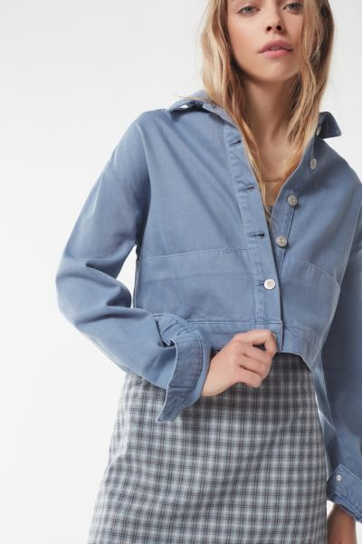 Uo Cropped Utility Jacket by Urban Outfitters