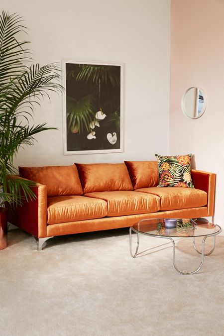 Chamberlin Velvet Sofa
