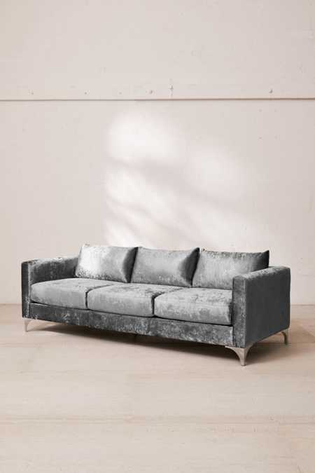 Chamberlin Crushed Velvet Sofa