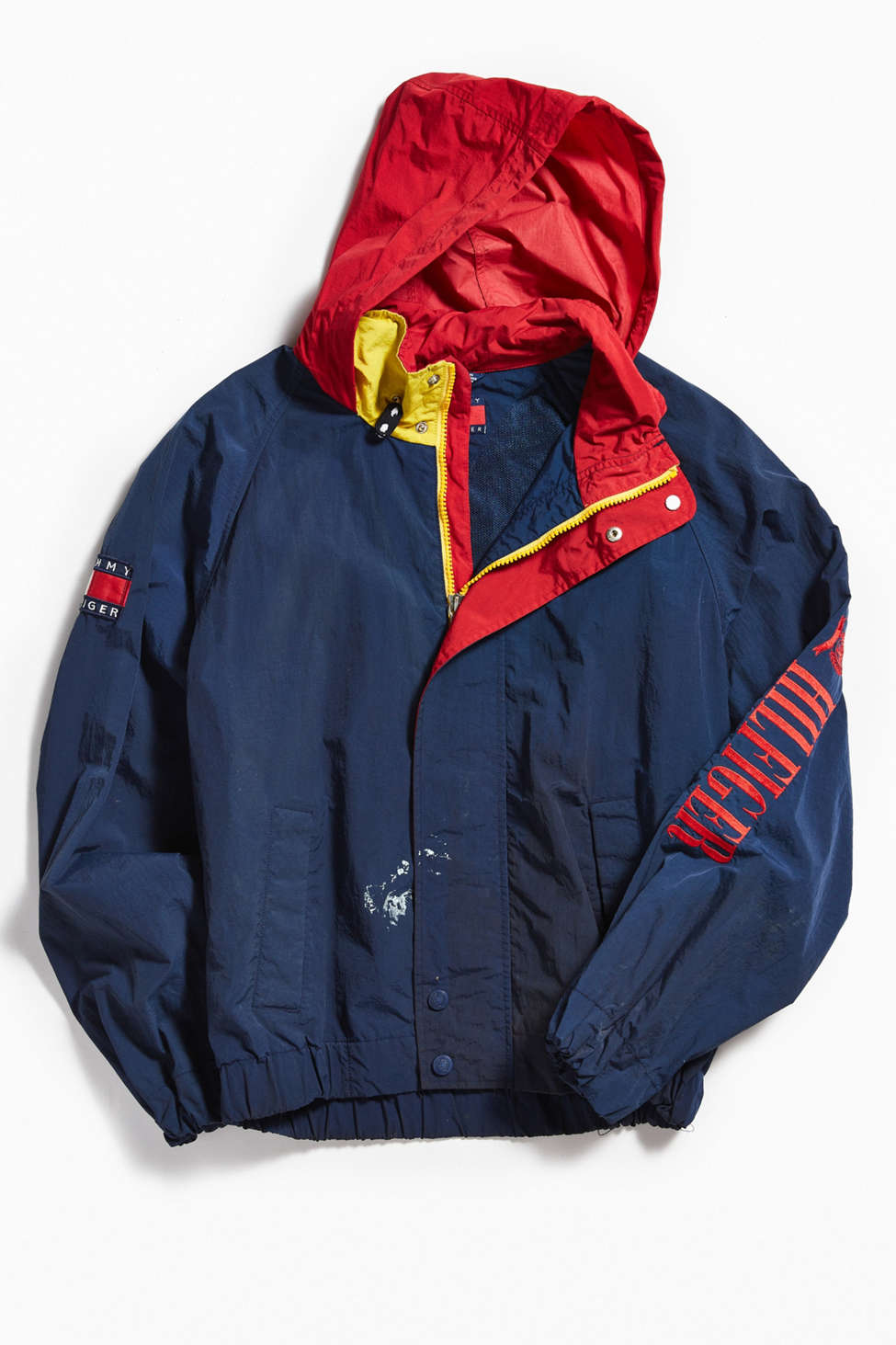 Vintage Tommy Hilfiger Navy Sailing Jacket Urban Outfitters