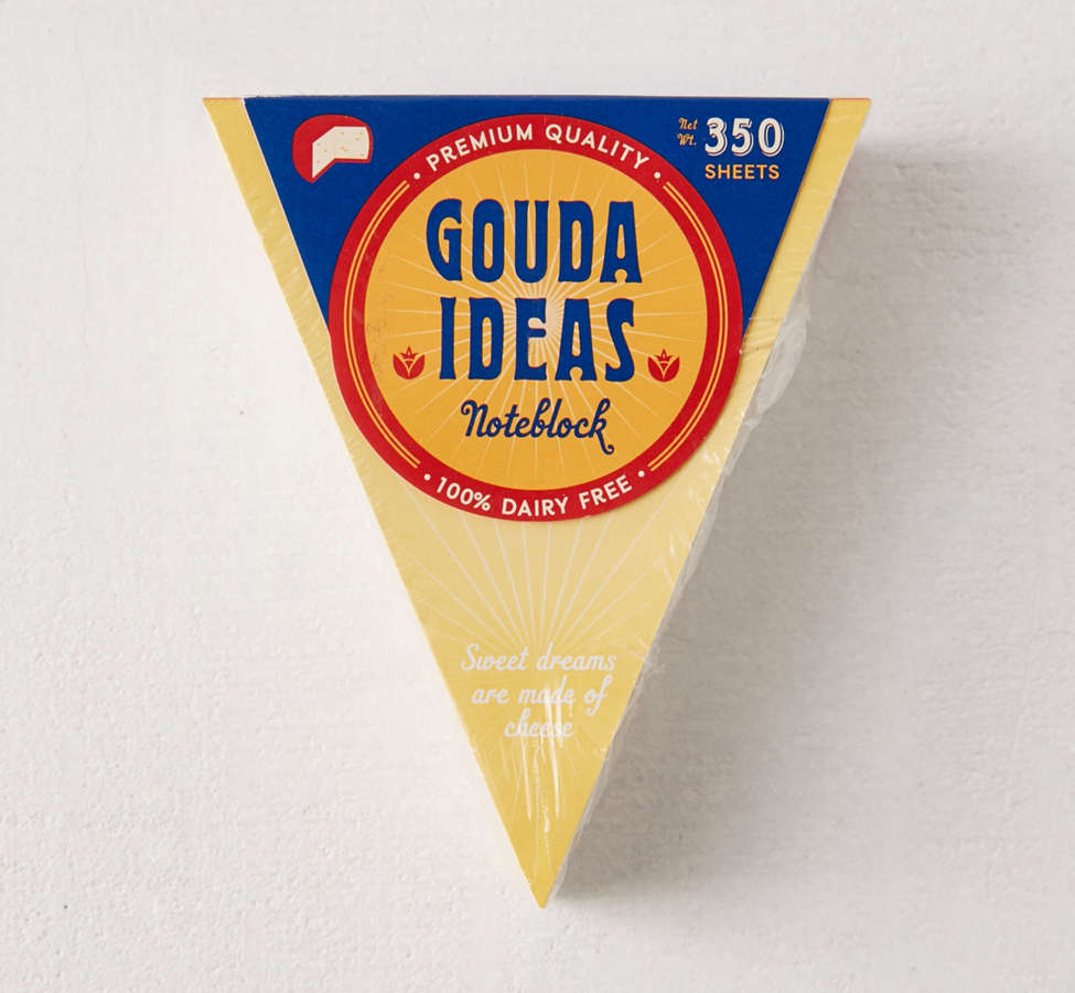 Slide View: 1: Gouda Ideas Notepad
