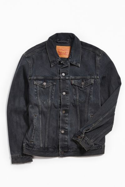 Levi's Overdyed Denim Trucker Jacket by Levi's
