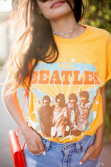 Junk Food Retro Beatles Tee