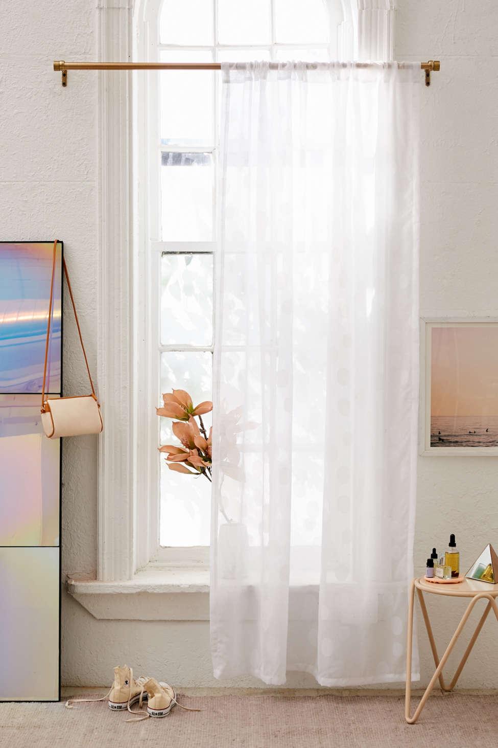 Slide View: 1: Sloane Sheer Window Curtain