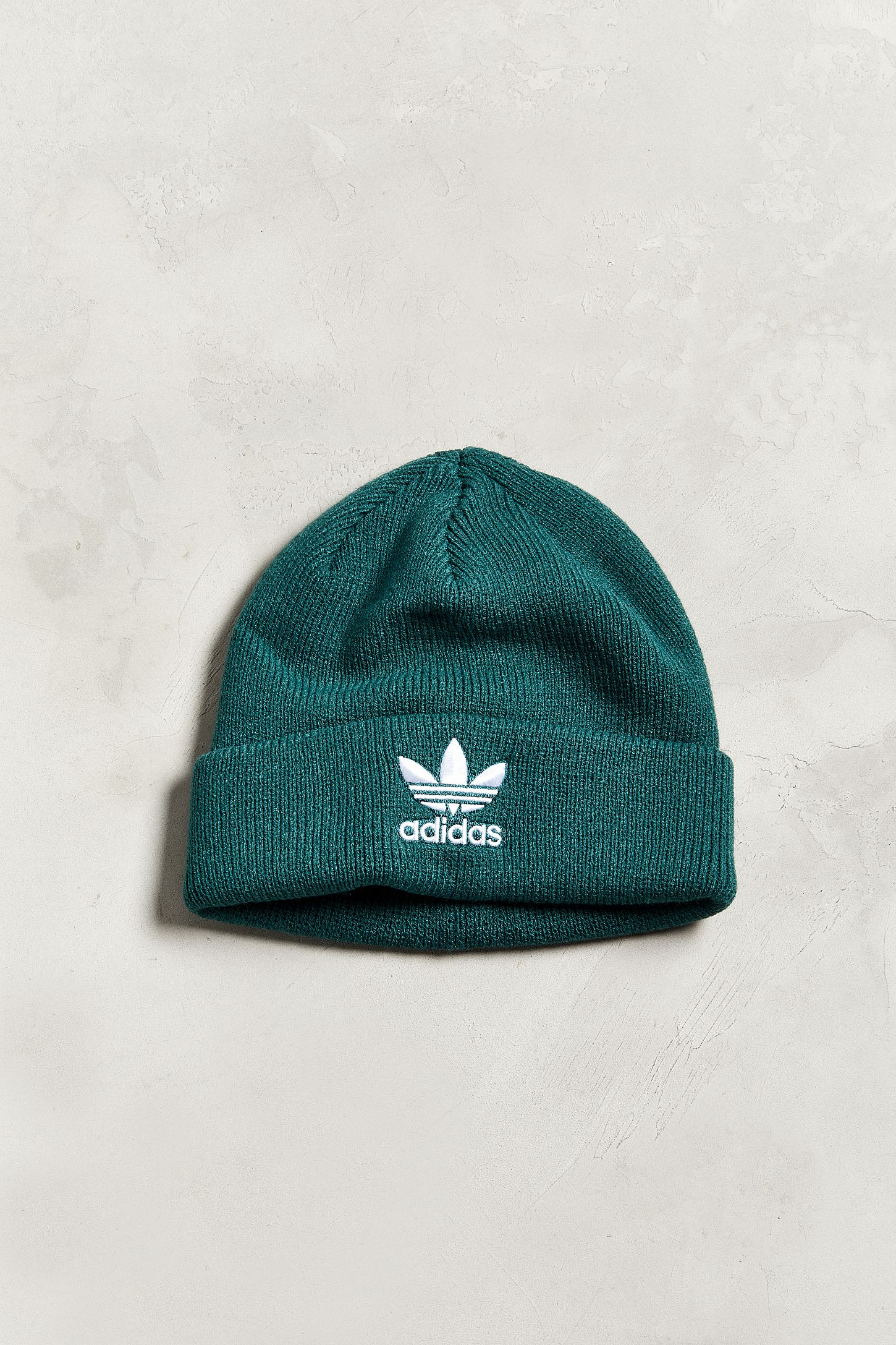 ccda9339349 adidas Originals Trefoil Green Beanie. Tap image to zoom. Hover to zoom.  Double Tap to Zoom