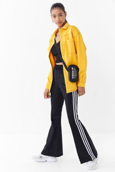 Adidas Velvet Flare Track Pant by Adidas