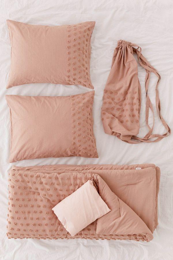 Slide View: 2: Tufted Dot Comforter Snooze Set
