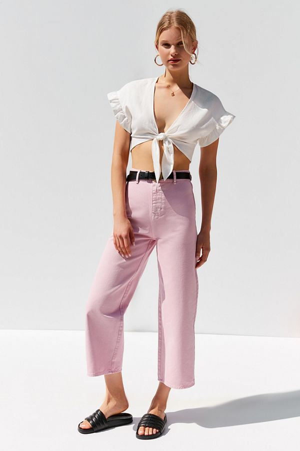 Slide View: 1: BDG High + Wide Cropped Jean – Cole