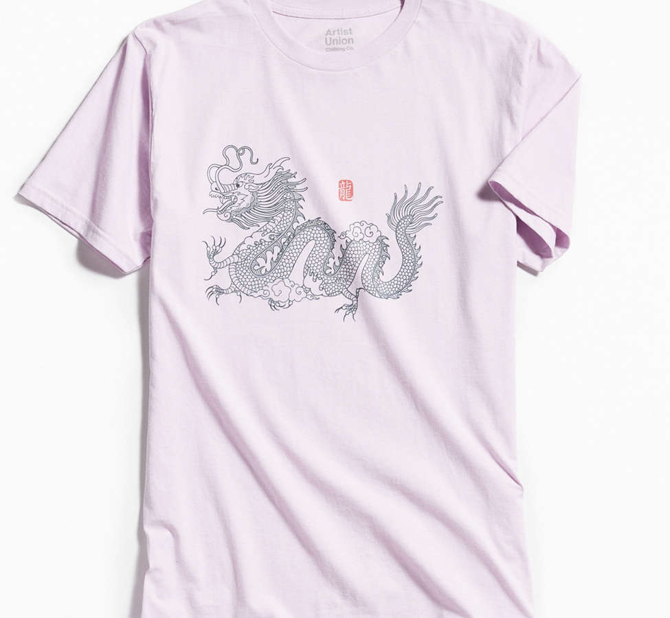 Slide View: 1: Dragon Pigment Dyed Tee