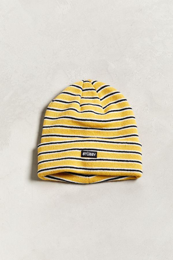 818a9a3a616 Stussy F18 Stripe Cuff Beanie