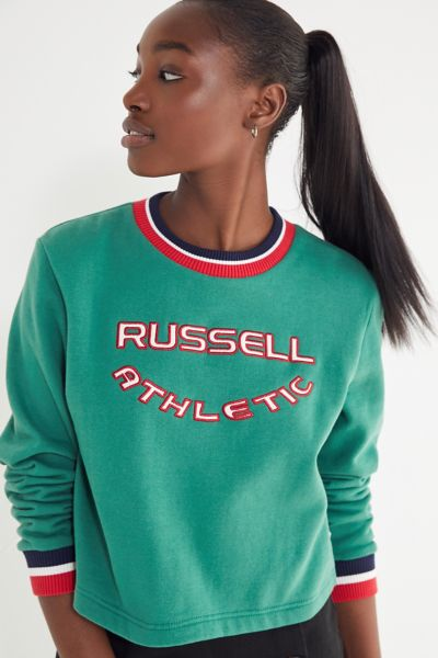 Russell Athletic Hera Ribbed Sweatshirt by Russell Athletic