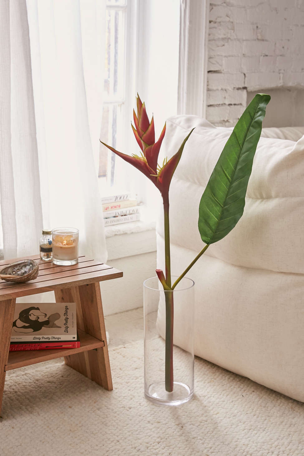 Slide View: 1: Faux Heliconia