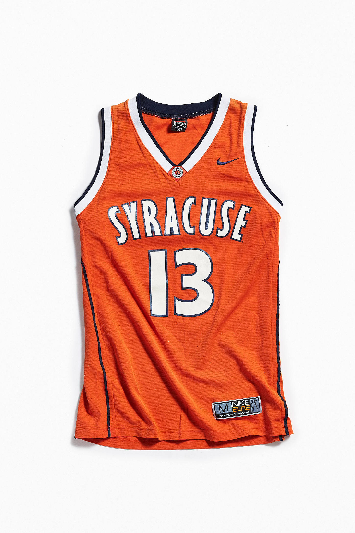 Vintage Nike Syracuse University Basketball Jersey Urban Outfitters