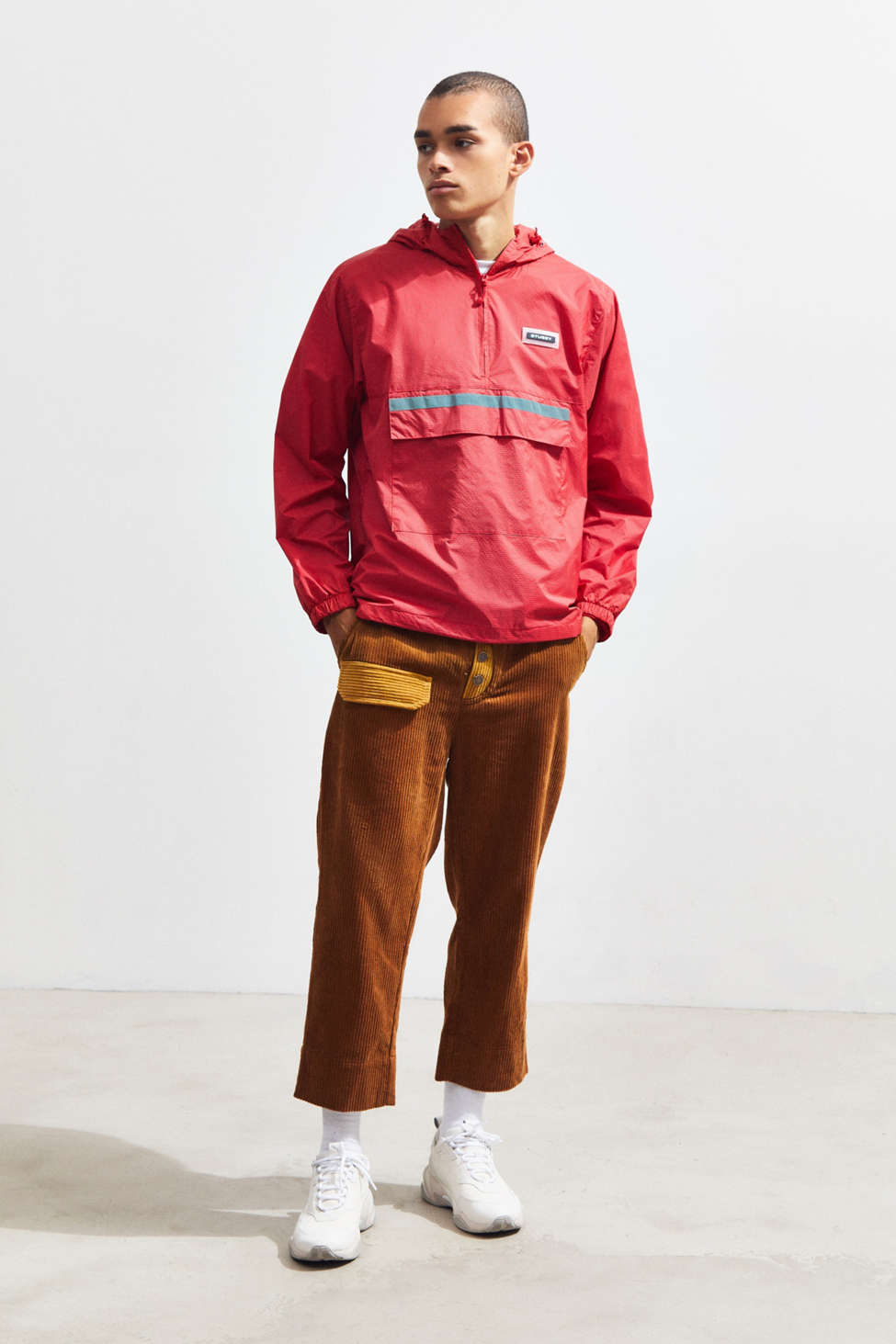 Fried Rice Roll Up Corduroy Pant by Fried Rice