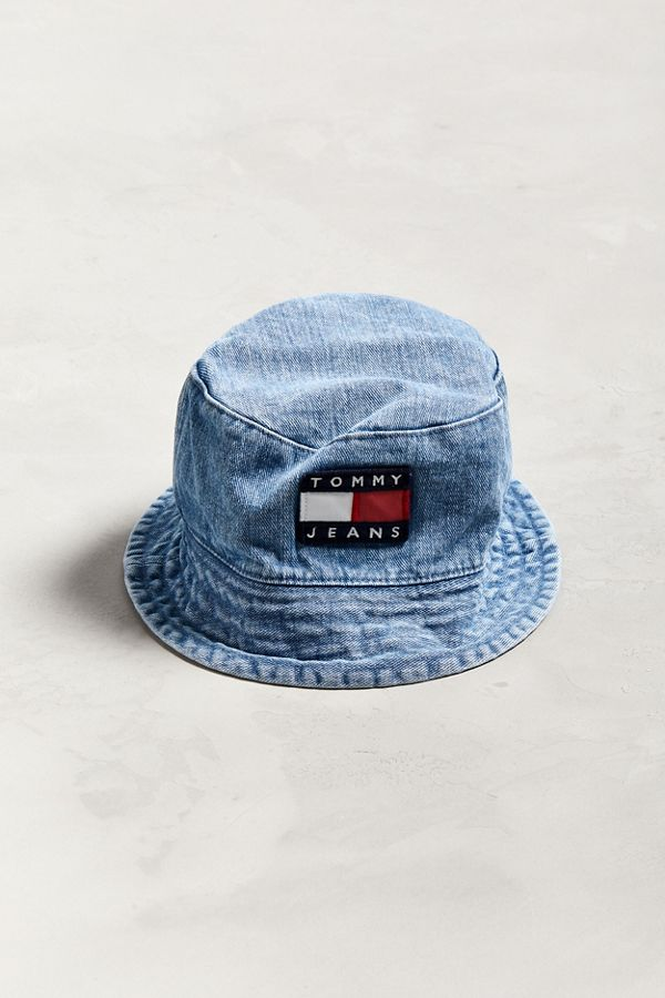 Tommy Jeans  90s Sailing Denim Bucket Hat  2dab2f68d13