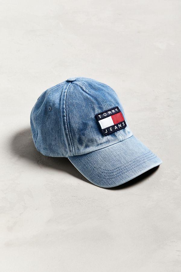 Tommy Jeans  90s Sailing Denim Baseball Hat  3b94b5cd2de