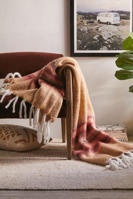 Varsity Stripe Throw Blanket