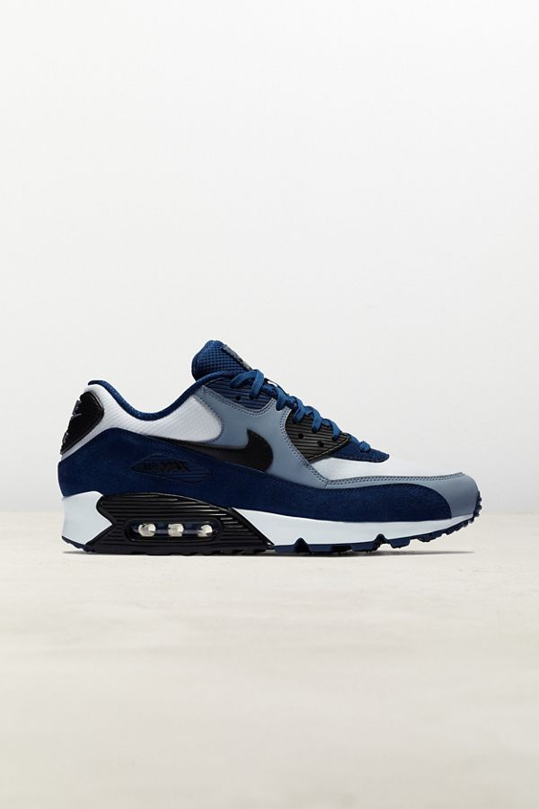 Slide View: 1: Nike Air Max 90 Leather Sneaker