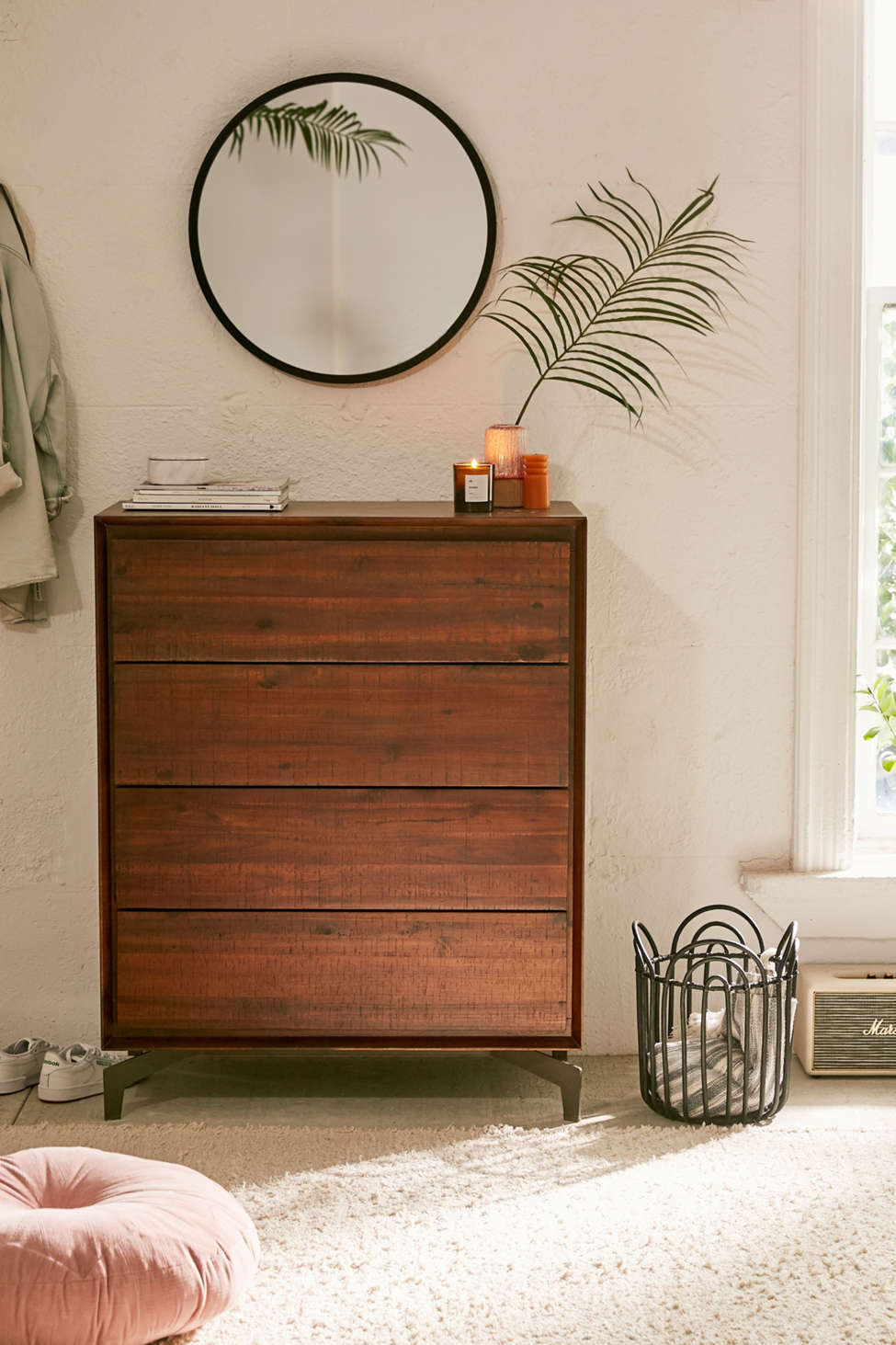 Slide View: 1: Nora Tall Dresser