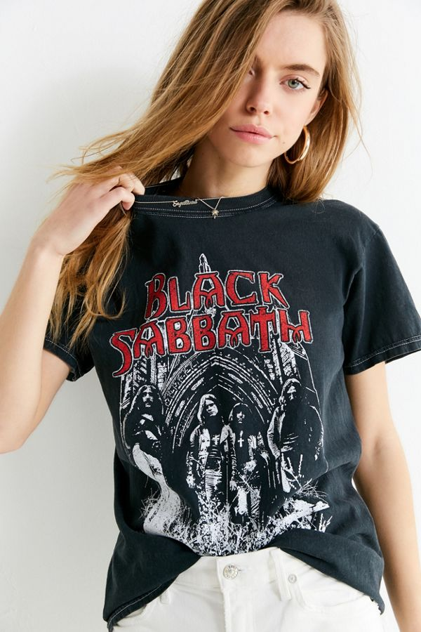 Black Sabbath Crew Neck Tee Urban Outfitters