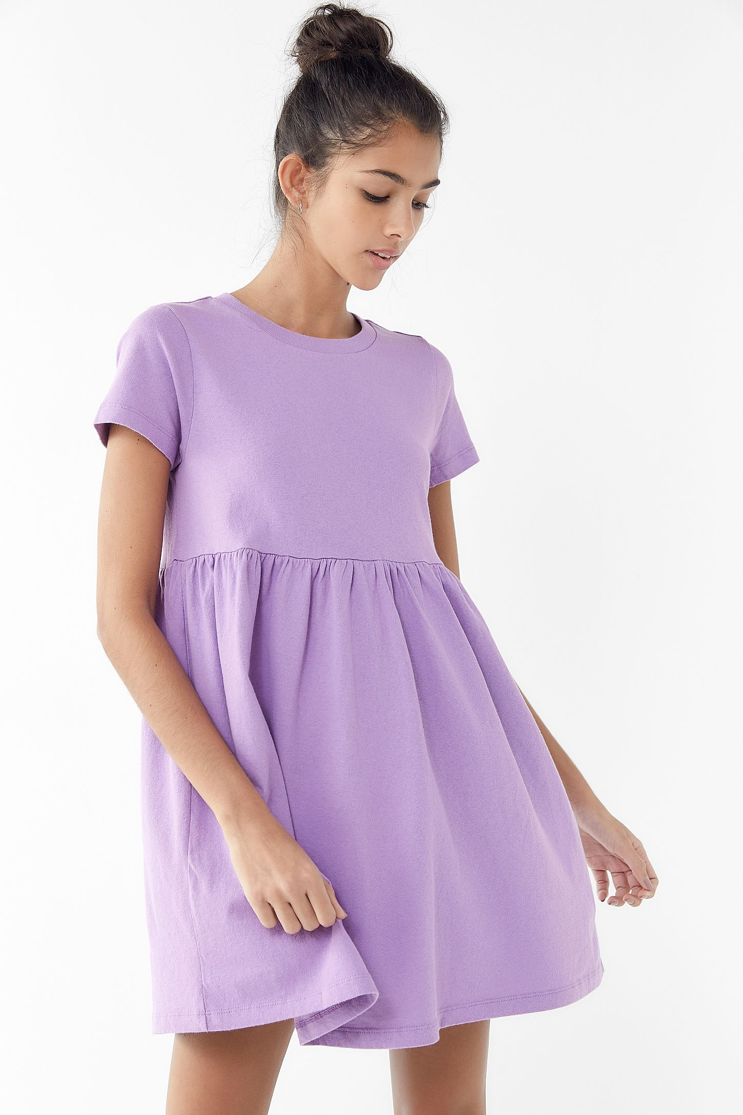 Uo Alexa Babydoll T Shirt Dress Urban Outfitters