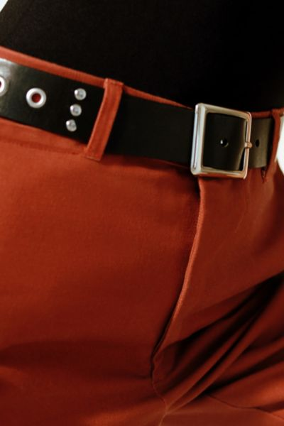 Grommet + Stud Leather Belt by Urban Outfitters