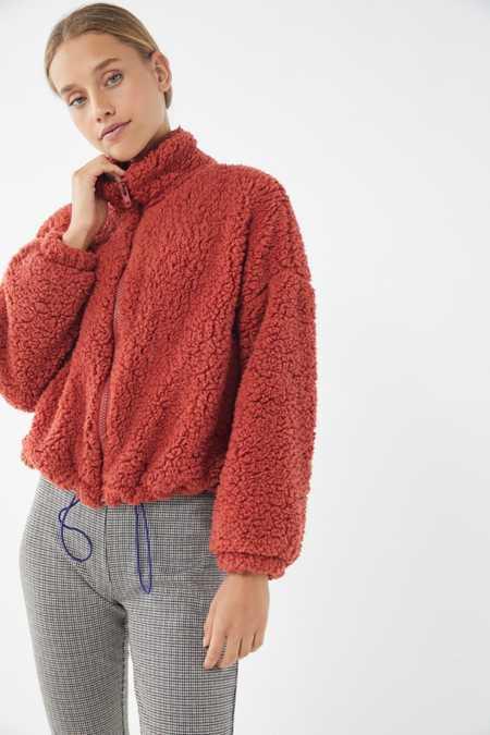 Urban Outfitters Women S Faux Fur Teddy Fuzzy Jackets Urban