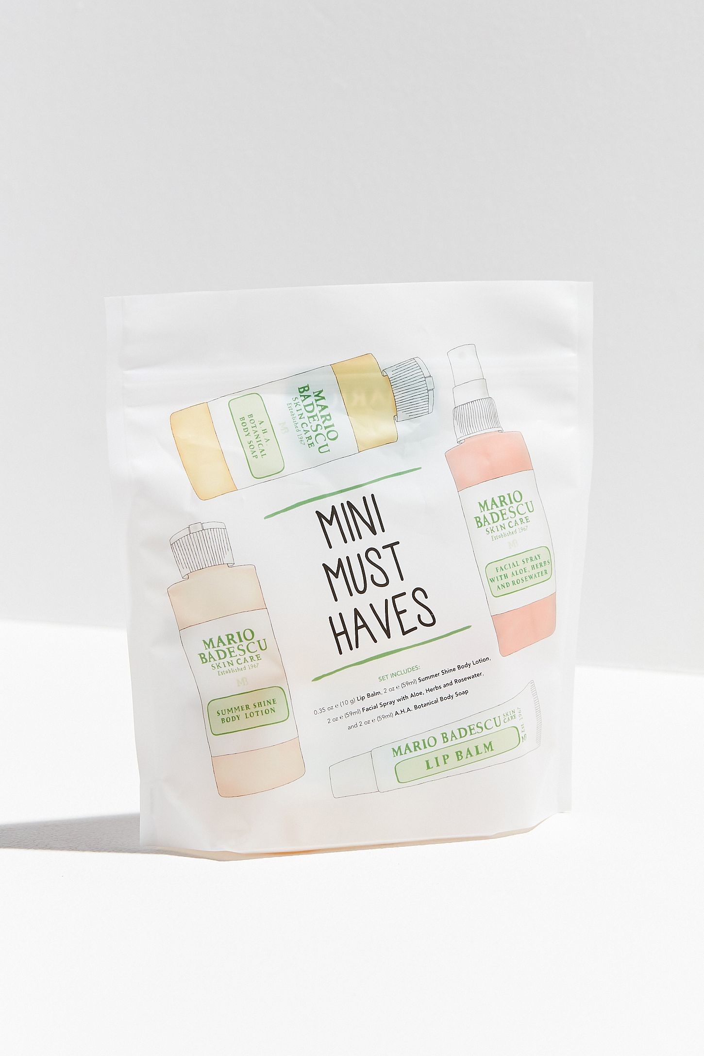 Mario Badescu Mini Must-Haves Skin Care Kit | Urban Outfitters Canada