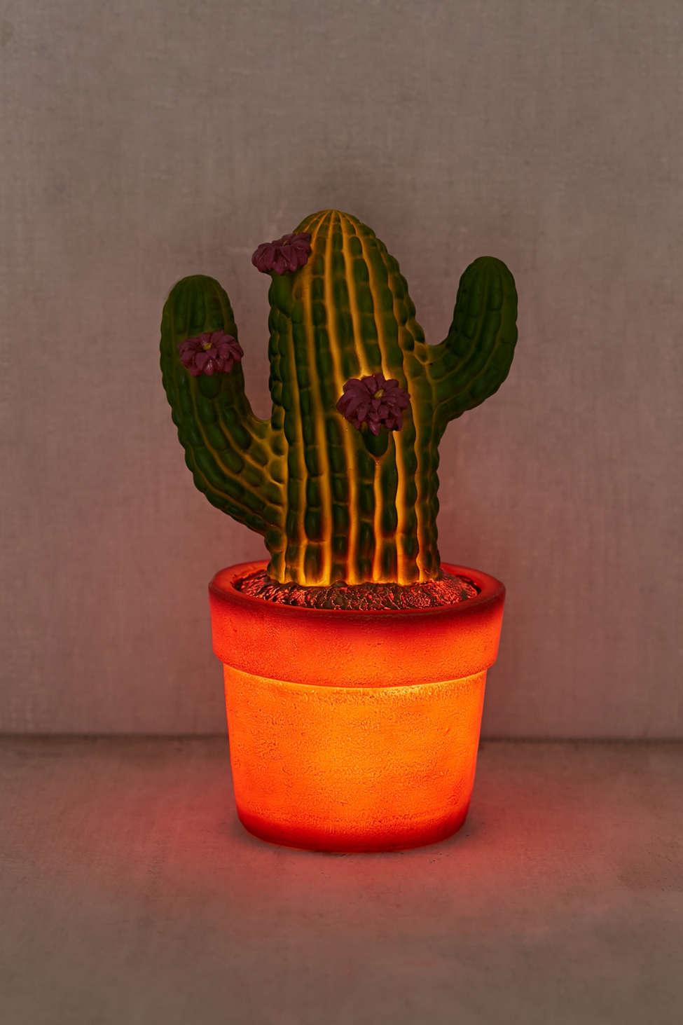 Slide View: 3: Cactus Night Light