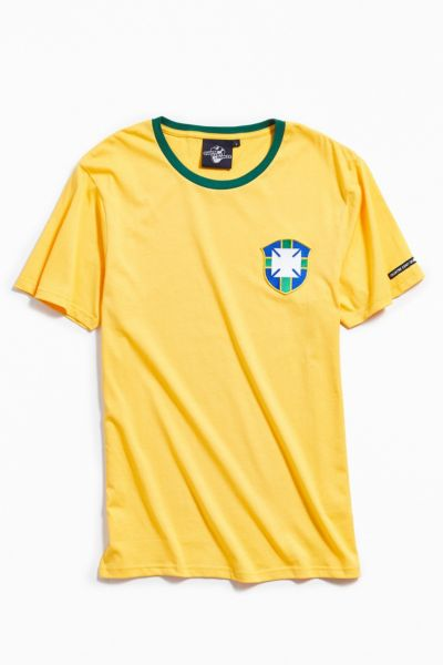 Quatre Cent Quinze Brazil Tee by Quatre Cent Quinze