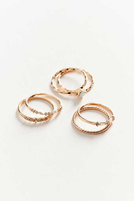 Simone Delicate Ring Set