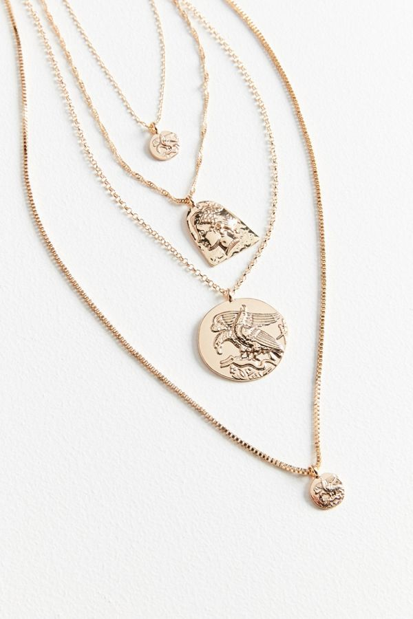 charm silver stamped necklaces charms initial in trinket necklace gold rose hand moms personalized for