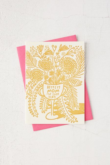Birthday cards funny greeting cards urban outfitters bestest mom ever card bookmarktalkfo Gallery