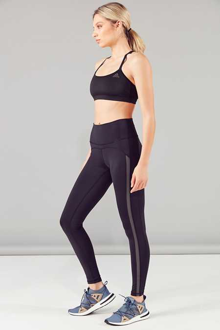 Slide View: 4: adidas High-Rise Active Legging