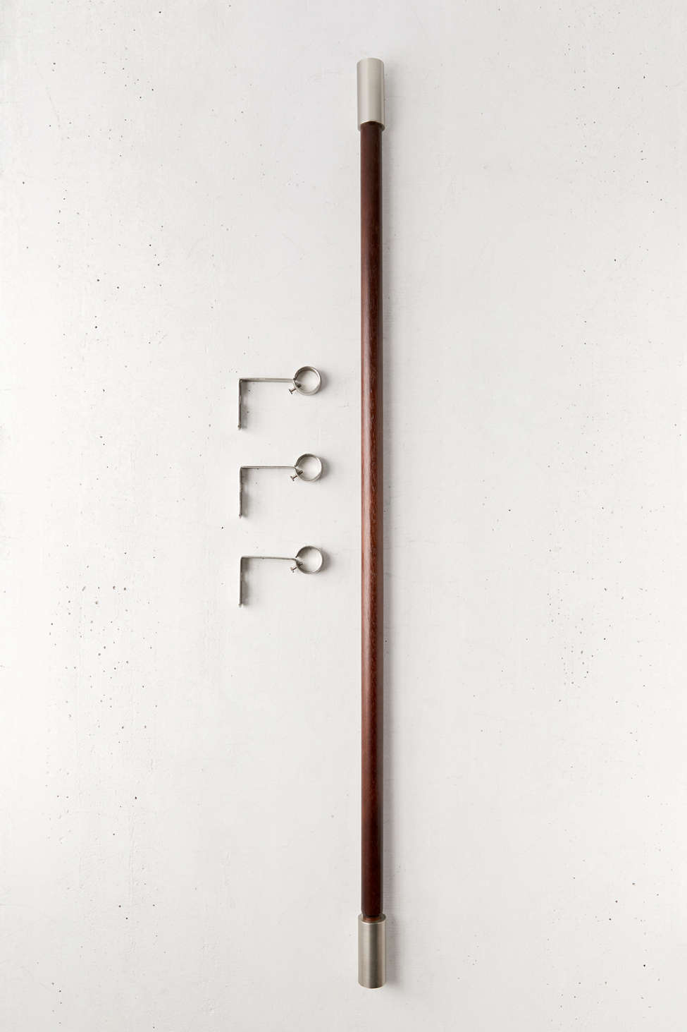 Slide View: 2: Enza Curtain Rod