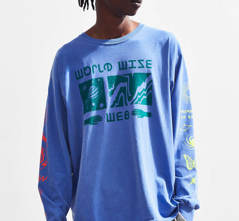 Slide View: 2: Extra Vitamins World Wise Long Sleeve Tee