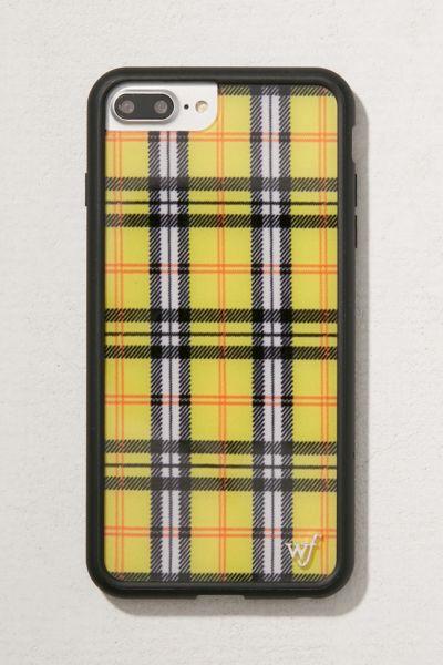 Wildflower Yellow Plaid I Phone 8/7/6 Plus Case by Wildflower