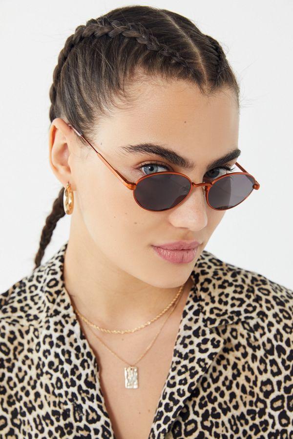 66d4975332 Slide View  1  Crap Eyewear UO Exclusive The New Riddim Round Sunglasses