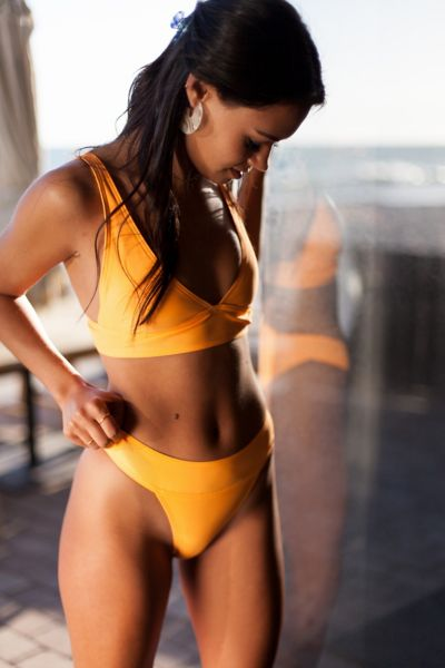 Gnash Swim X Uo Jane Brief Bikini Bottom by Gnash Swim