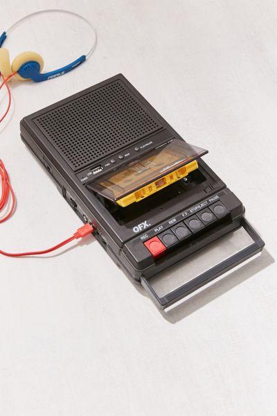 Retro Shoebox Cassette Tape Recorder Usb Player Urban