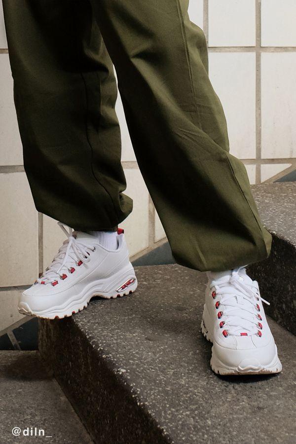 Skechers Seeing Double Premium Sneaker KbwLZidWu