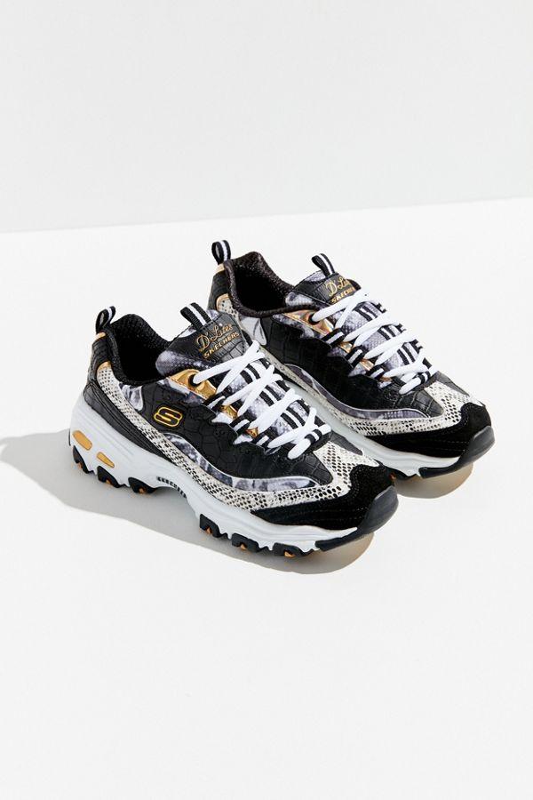 Slide View  1  Skechers D Lites Runway Ready Sneaker 5a182156159b