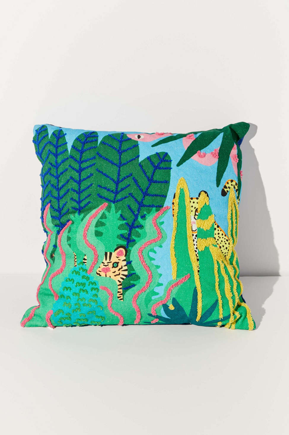Slide View: 1: Jarmél By Jarmel For UO Wild Buddies Throw Pillow