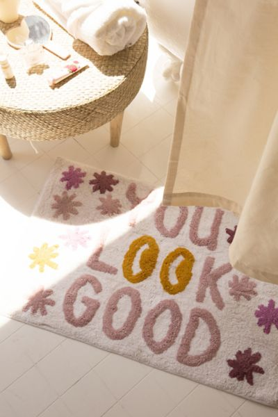 You Look Good Bath Mat by Urban Outfitters