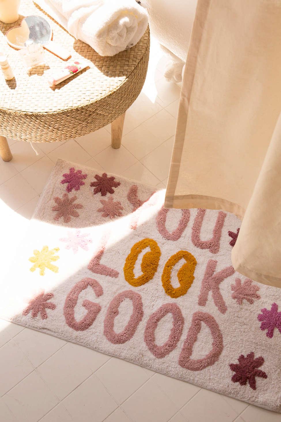 Slide View: 1: You Look Good Bath Mat