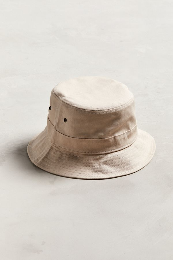 Slide View  1  UO Pink Canvas Bucket Hat 187f9388b3e