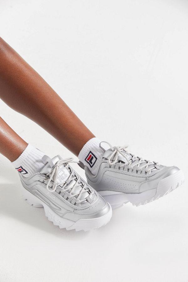FILA Disruptor 2 Premium Metallic Sneaker | Urban Outfitters